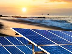 California Beaches to House Solar Panels