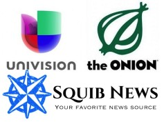 Univision Purchases The Onion for $27.3 Million, Attempts to Buy Squib News for $1.3 Billion