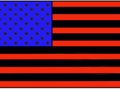 Hillary to Replace White Strips in the American Flag with Black Ones to Make it  Racially Acceptable