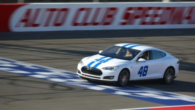 Tesla's E-NASCAR Spins Out During First Race